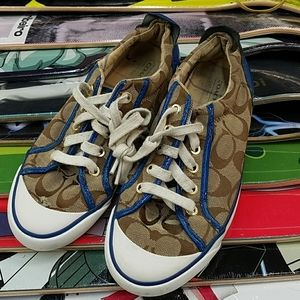 Coach sneakers! Big value